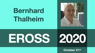 Bernhard Thalheim: Towards Foundations of Conceptual Modelling