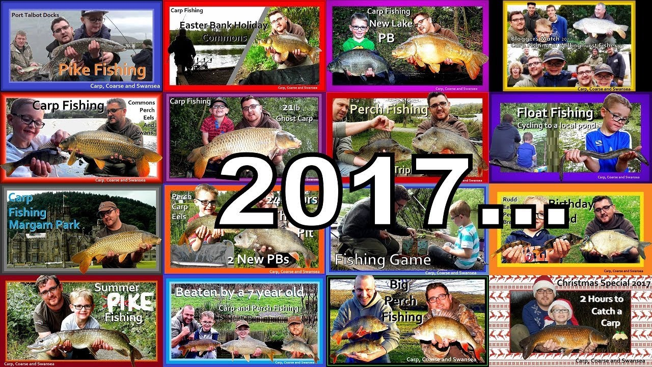 2017...End of year round up. Carp, Coarse and Swansea.