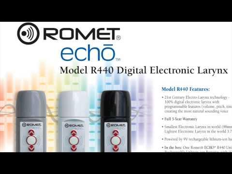 Electronic Larynx Romet Model ECHO II