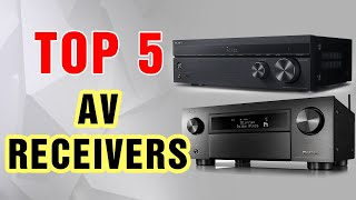 Best AV Receiver in 2021 | Dolby Atmos, Bluetooth, Voice Control (Updated)