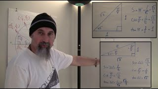 ASMR Math: Trig Ratios For Special Right Triangles, 30-60-90 And 45-45-90 -- Male, Soft-Spoken