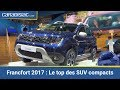 Le top des SUV compacts - Salon de Francfort 2017
