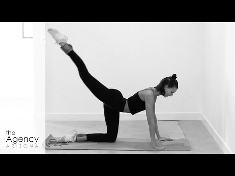 How To   Exercise Like a Model   Full Body Tone - YouTube
