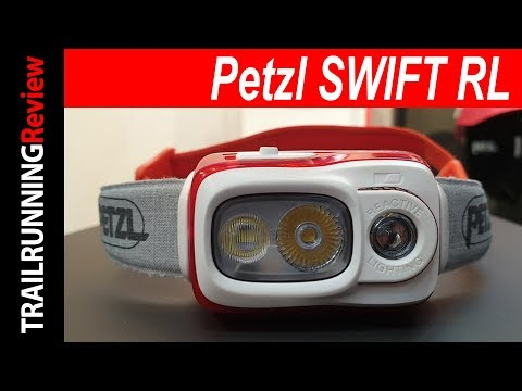 Видео о Фонарь Petzl Swift RL black E095BA00