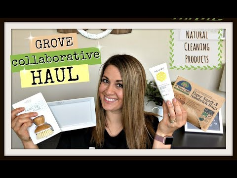 NATURAL & NON TOXIC CLEANING PRODUCTS UNBOXING :: GROVE COLLABORATIVE HAUL & REVIEW 2018