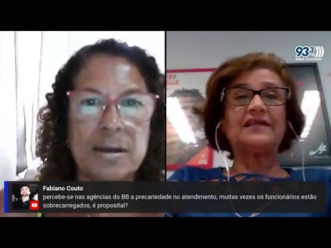 Jornal Manhã RBA Litoral - Eneida Koury fala sobre reestruturação no BB