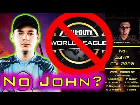 No John in CDL 2020!? - Rostermania News & Rumors    CoD: MW