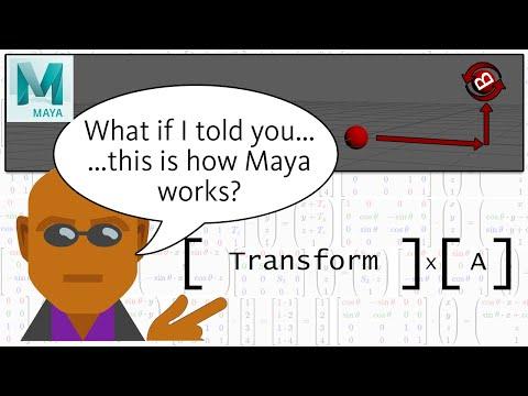Empowering rigs using Offset Parent Matrix in Maya 2020