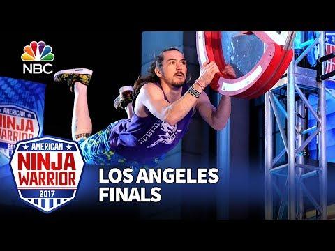 Nick Hanson at the Los Angeles City Finals - American Ninja Warrior 2017