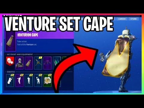 *NEW* Venture Set Cape **HOW TO GET IT** (Fortnite Battle Royale Skins) Venturion Cape Mp3