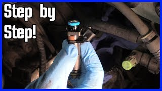 Replace a Fuel Injector Ford F150