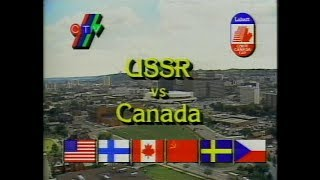 """СССР - Canada 1987-09-06 Canada cup""""87 Group game"""