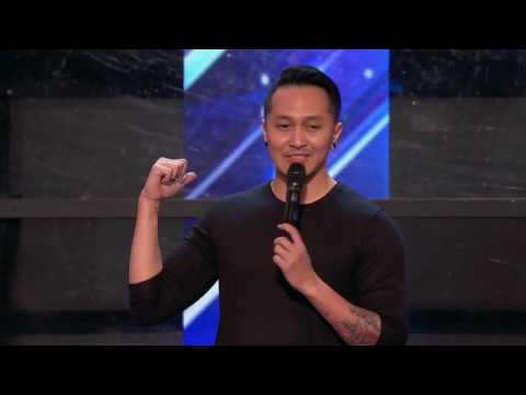 Amazing Perfomance Demian Aditya (Indonesia) - America's Got Talent 2017 (видео)