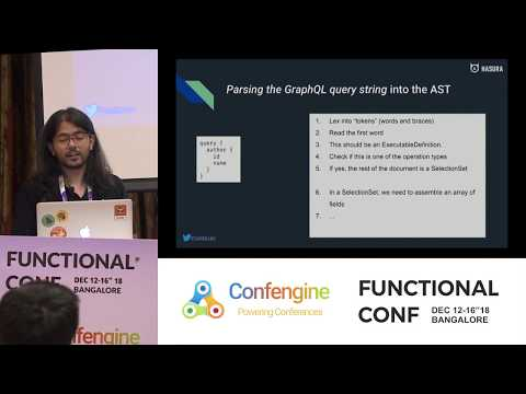 Using Haskell to build a performant GraphQL to SQL compiler by Tanmai Gopal