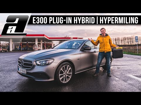 ÜBER 1000km mit EINEM Tank im Mercedes E300e?! | Plug-In Hybrid HYPERMILING
