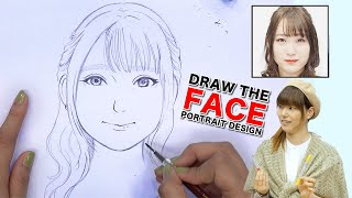 DRAW THE FACE|Japanese Fashion Model