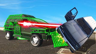 NEW $3,950,000 OVERPOWERED LASER MINIVAN! (GTA 5 DLC)