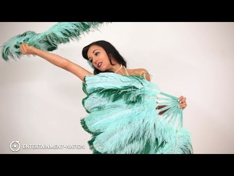 Feathers and Frills - Feather Fans Performance