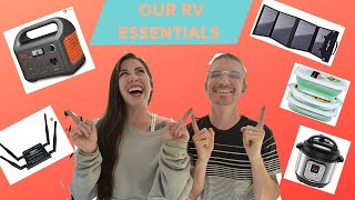 RV LIFE ESSENTIALS (Our favorite products for full time travel)