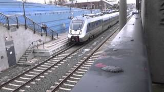 preview picture of video 'BR 442 (DB 1442 189 & 1442 125) S-Bahn Mitteldeutschland - Bf. Leipzig MDR'