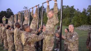Physical Fitness Training at Fort Jackson, S.C.