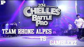 Team Rhone Alpes vs Gamblerz | FINAL | Chelles Battle Pro 2014