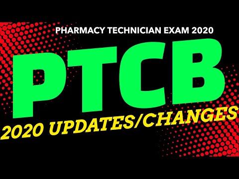 PTCB CHANGES 2020 | The Pharmacy Technician Exam Updates ...