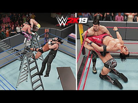 WWE 2K19 Top 10 Awesome Moments vs Epic Fails!! Part 9