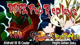 DBFZ KR_WrestlingMan Vs ChunBeYun [Dragon Ball FighterZ] Pro Replays