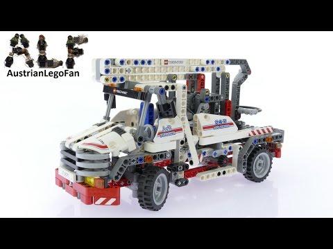 Vidéo LEGO Technic 8071 : Le camion-nacelle