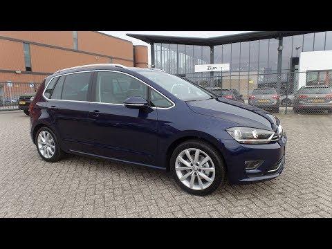 Volkswagen Golf Sportsvan Highline 2017 - 2018 Atlantic Blue Metallic DSG TSI