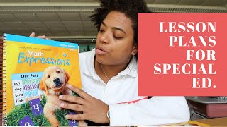 Lesson Planning | Plans For A Multi-Grade Classroom | Special Education