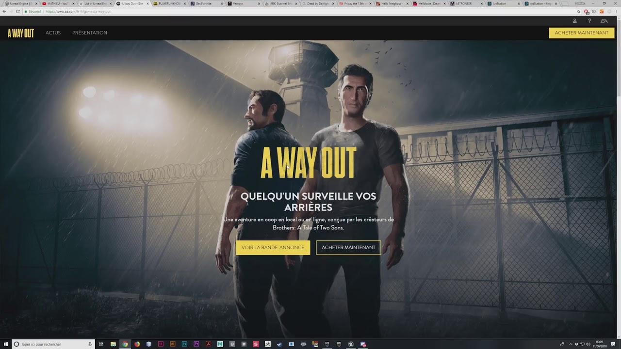 Tuto Projet Year ONE: Créez votre jeu vidéo de A à Z avec Unreal Engine 4