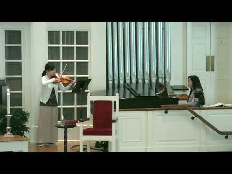 This is a live performance recording with my sister at Washington Street UMC of an original composition by my sister.