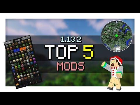 TOP 5 Mods for Minecraft 1.13.2 [Rift]
