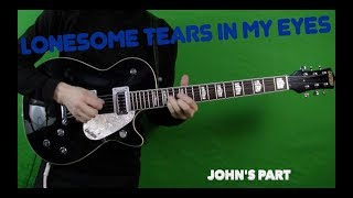 Lonesome Tears In My Eyes - Isolated Guitar, Bass and Drums