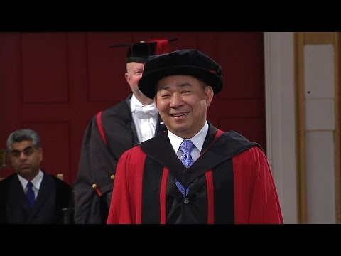 Vichai Srivaddhanaprabha - Honorary Degree - University of Leicester