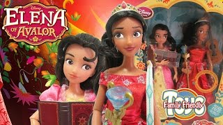 Elena Of Avalor Deluxe Singing Doll Set From The Disney Store And Disney Junior