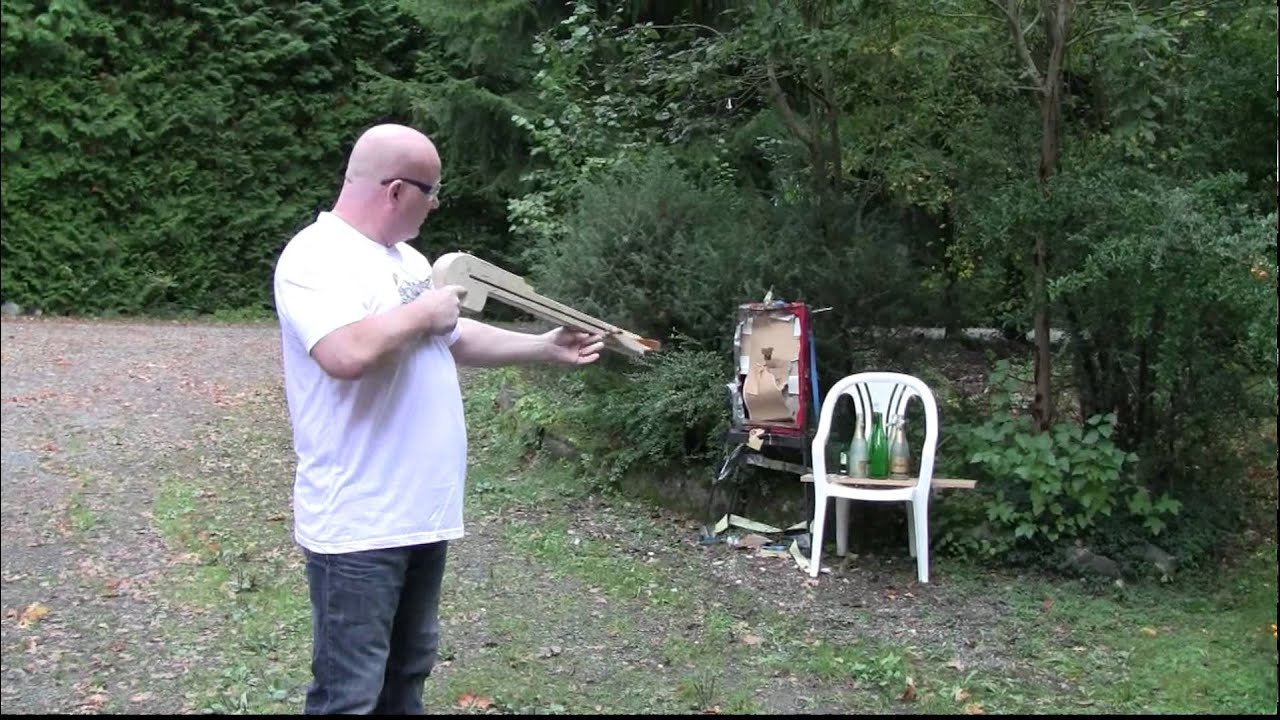 The Pump Action Slingshot Crossbow: 'I Killed Them All'