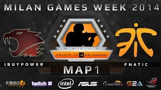 iBUYPOWER vs Fnatic - Map 1 (de_dust 2) - FACEIT Season 2 LAN Finals