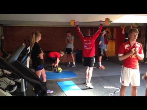 Crossfit Fun for Handball Players