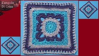 Colorata borsa a uncinetto a spalla con piastrelle mattonelle etsy