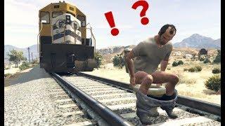 【GTA5】列車に凶器をつけて高速道路を逆走させてみた【VSワンパンマン】