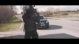 Старт в Дагде и дорога по востоку Латвии
