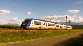 preview picture of video 'Soirée ferroviaire à Ossun le 1 septembre 2012'