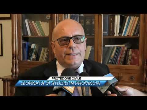 PROTEZIONE CIVILE, GIORNATA DI STUDIO IN PROVINCIA
