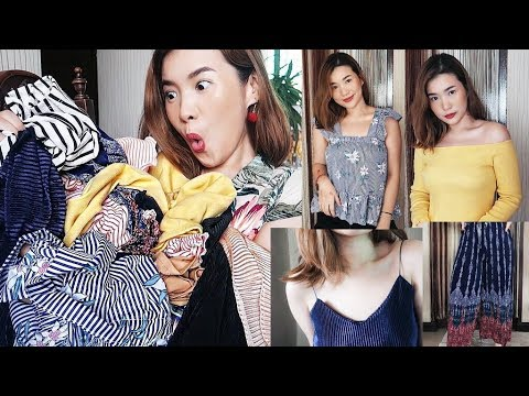 MURA NA, USO PA! Taytay Try On Clothing Haul (65 PESOS!?)