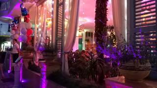 ❇️Алушта. Веселая, вечерняя набережная. Ресторан Встреча. Крым 2018