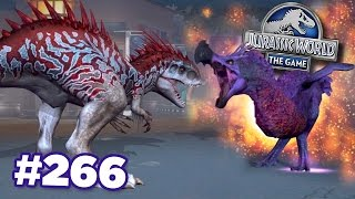 DEATH DODO VS INDOMINUS REX! || Jurassic World - The Game - Ep266 HD