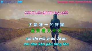 [Vietsub + Pinyin] Con Đường Bình Phàm -《平凡之路》 Ping Fan Zhi Lu